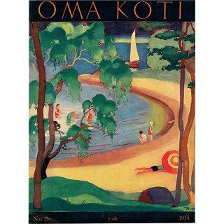 フィンランドの暮らしの情報誌 表紙 〜OMA KOTI〜No.13 0163