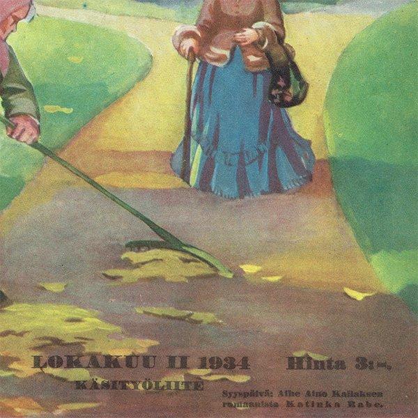 フィンランドの暮らしの情報誌 表紙 〜KOTILIESI〜より 0165