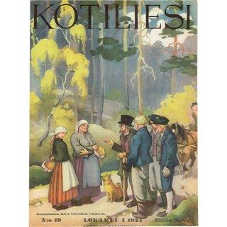 フィンランドの暮らしの情報誌 表紙 〜KOTILIESI〜より 0166