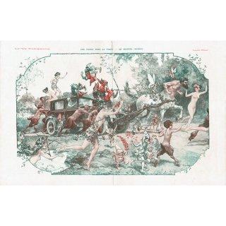 フランスの雑誌挿絵 〜LA VIE PARISIENNE〜よりChéri Hérouard 0129