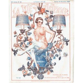 フランスの雑誌表紙 〜LA VIE PARISIENNE〜より(Chéri Hérouard)0132