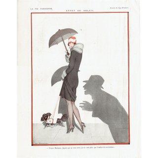 フランスの雑誌挿絵 〜LA VIE PARISIENNE〜より(Zyg Brunner)0133