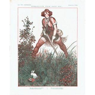 フランスの雑誌挿絵 〜LA VIE PARISIENNE〜より(Armand Vallée)0137