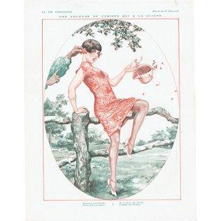 フランスの雑誌挿絵 〜LA VIE PARISIENNE〜より(Chéri Hérouard)0141