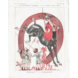 フランスの雑誌裏表紙 〜LA VIE PARISIENNE〜より(Vald'Es)0143