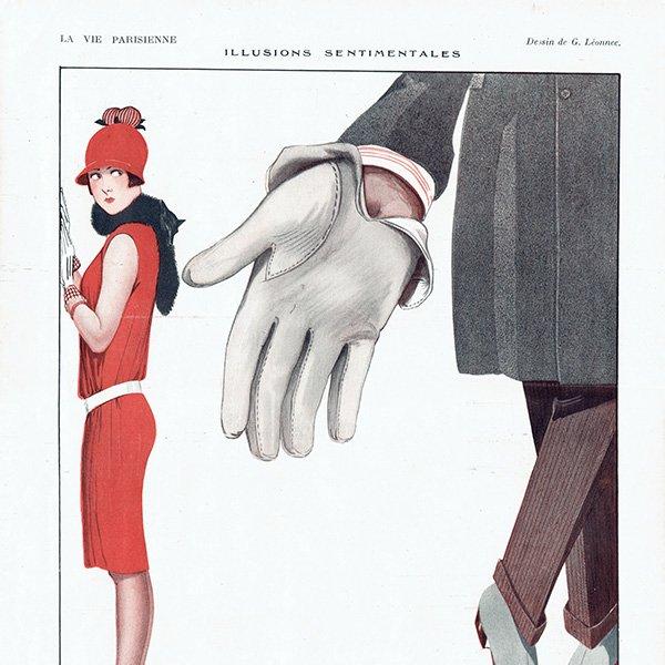 フランスの雑誌挿絵 〜LA VIE PARISIENNE〜より(ジョルジュ・レオネック/Georges Léonnec)0147