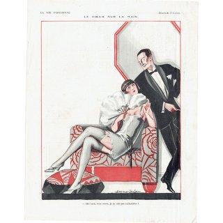 フランスの雑誌裏表紙 〜LA VIE PARISIENNE〜より(Julien Jacques Leclerc)0150