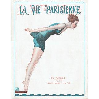 フランスの雑誌表紙 〜LA VIE PARISIENNE〜より(ジョルジュ・レオネック/Georges Léonnec)0151