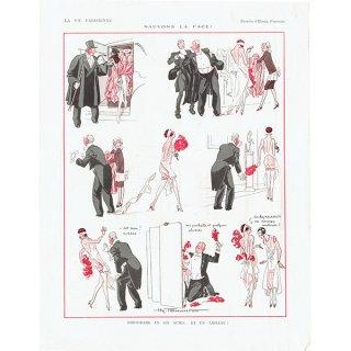 フランスの雑誌挿絵 〜LA VIE PARISIENNE〜より(Henry Fournier)0152