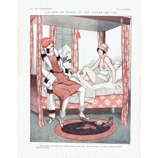 フランスの雑誌挿絵 〜LA VIE PARISIENNE〜より(ファビアン・ファビアーノ/Fabien Fabiano)0153
