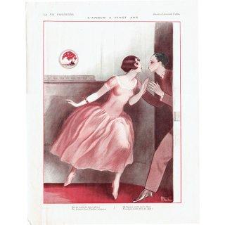 フランスの雑誌挿絵 〜LA VIE PARISIENNE〜より(Armand Vallée)0161