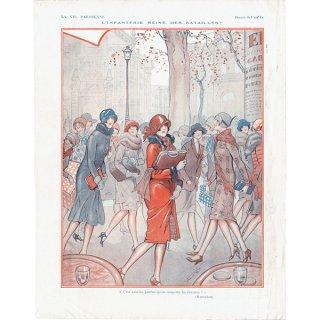 フランスの雑誌裏表紙 〜LA VIE PARISIENNE〜より(Vald'Es)0164