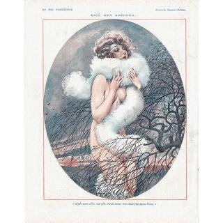 フランスの雑誌裏表紙 〜LA VIE PARISIENNE〜より(Maurice Milliere)0166