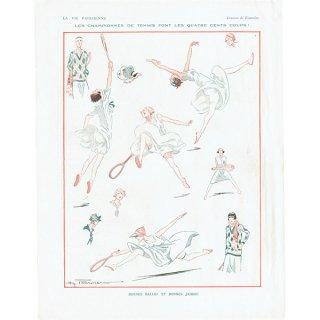 フランスの雑誌挿絵 〜LA VIE PARISIENNE〜より(Henry Fournier)0170