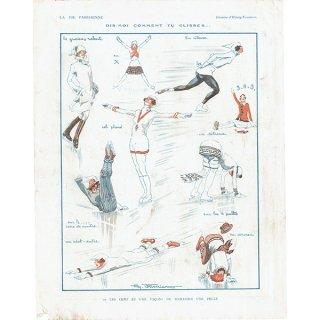 フランスの雑誌裏表紙 〜LA VIE PARISIENNE〜より(Henry Fournier)0171