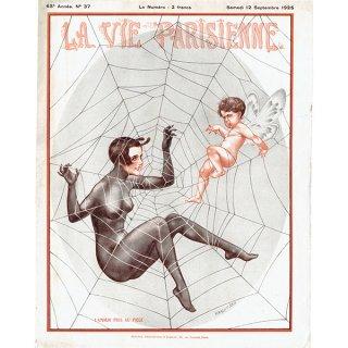 フランスの雑誌表紙 〜LA VIE PARISIENNE〜より(Chéri Hérouard)0172