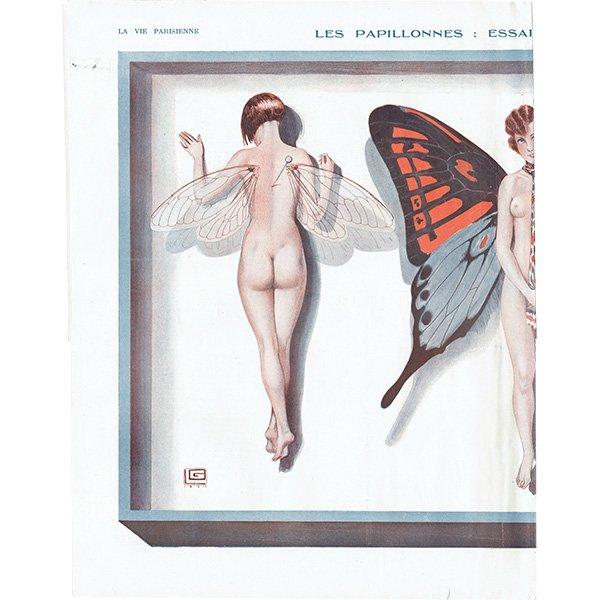 フランスの雑誌挿絵 〜LA VIE PARISIENNE〜より(ジョルジュ・レオネック/Georges Léonnec)0175