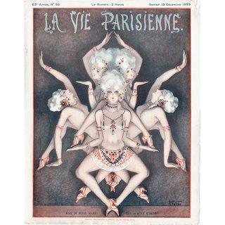 フランスの雑誌表紙 〜LA VIE PARISIENNE〜より(Louis Vallet)0177