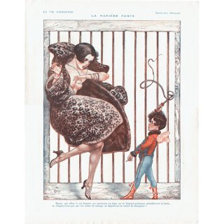 フランスの雑誌挿絵 〜LA VIE PARISIENNE〜より(Chéri Hérouard)0178