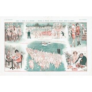 フランスの雑誌挿絵 〜LA VIE PARISIENNE〜より(Armand Vallée)0184