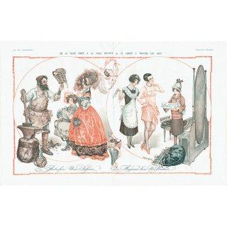 フランスの雑誌挿絵 〜LA VIE PARISIENNE〜より(Chéri Hérouard)0191