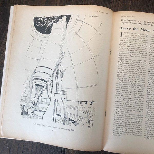 イギリスの風刺雑誌PUNCH(パンチ/クェンティン・ブレイク)1958年8月27日号 0171<img class='new_mark_img2' src='https://img.shop-pro.jp/img/new/icons5.gif' style='border:none;display:inline;margin:0px;padding:0px;width:auto;' />