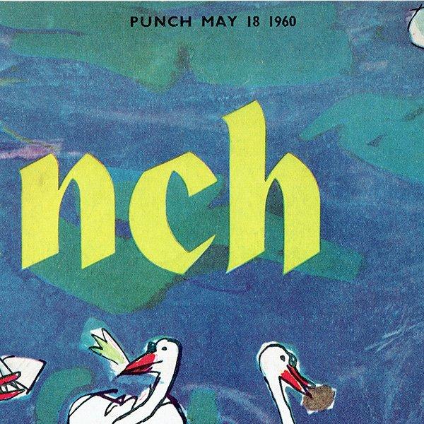 イギリスの風刺雑誌PUNCH(パンチ/クェンティン・ブレイク)1960年5月18日号 0173