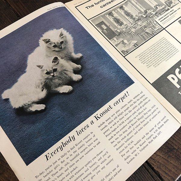 イギリスの風刺雑誌PUNCH(パンチ/クェンティン・ブレイク)1959年1月14日号 0174