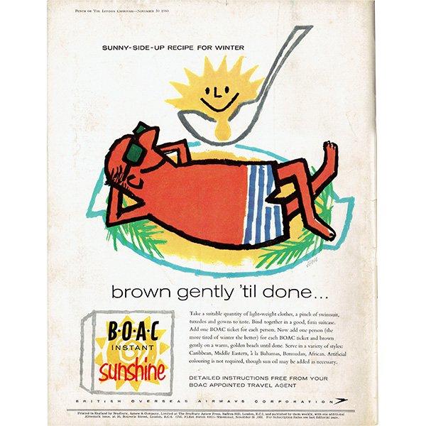 イギリスの風刺雑誌PUNCH(パンチ/クェンティン・ブレイク)1960年11月30日号 0175<img class='new_mark_img2' src='https://img.shop-pro.jp/img/new/icons5.gif' style='border:none;display:inline;margin:0px;padding:0px;width:auto;' />