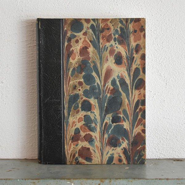 デンマーク 北欧 アンティークブック 古い洋書 ディスプレイ040