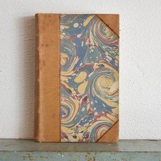 デンマーク 北欧 アンティークブック 古い洋書 ディスプレイ041