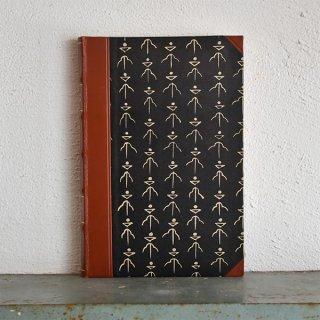 デンマーク 北欧 アンティークブック 古い洋書 ディスプレイ043
