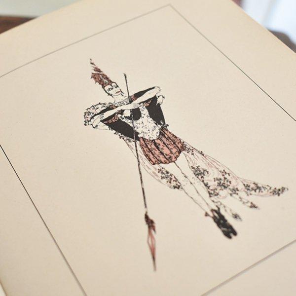 アラステア挿絵 フランス語SALOME オスカー・ワイルド著(1922年初版)056