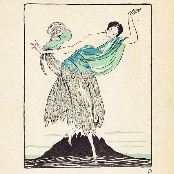 ガゼット・デュ・ボントン La Gazette du bon ton 1921 n°5 pl.33 #003