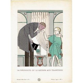 ガゼット・デュ・ボントン La Gazette du bon ton 1920  n°1 pl.2 #004