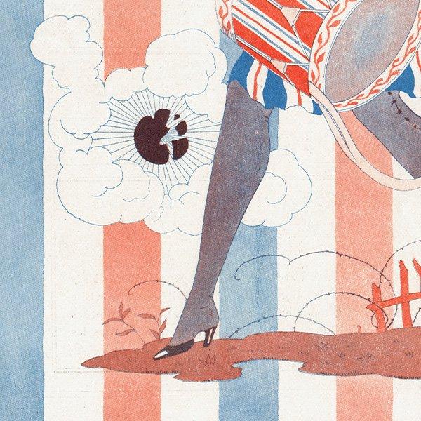 ジョルジュ・バルビエ(George Barbier)フランスの雑誌表紙 〜LA VIE PARISIENNE〜より 0193