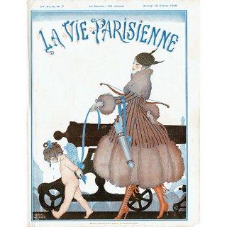 ゲアダ・ヴィーイナ(Gerda Wegener)フランスの雑誌表紙 〜LA VIE PARISIENNE〜より 0198