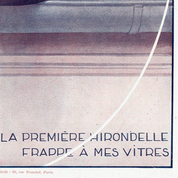 フランスの雑誌表紙 〜LA VIE PARISIENNE〜(ジョルジュ・レオネック/Georges Léonnec)0200<img class='new_mark_img2' src='https://img.shop-pro.jp/img/new/icons5.gif' style='border:none;display:inline;margin:0px;padding:0px;width:auto;' />