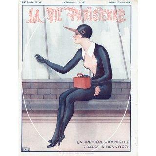 フランスの雑誌表紙 〜LA VIE PARISIENNE〜(ジョルジュ・レオネック/Georges Léonnec)0200