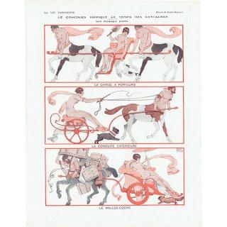 フランスの雑誌挿絵 〜LA VIE PARISIENNE〜より(Joseph Kuhn-Régnier)0201