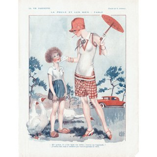 フランスの雑誌挿絵 〜LA VIE PARISIENNE〜(ジョルジュ・レオネック/Georges Léonnec)0203