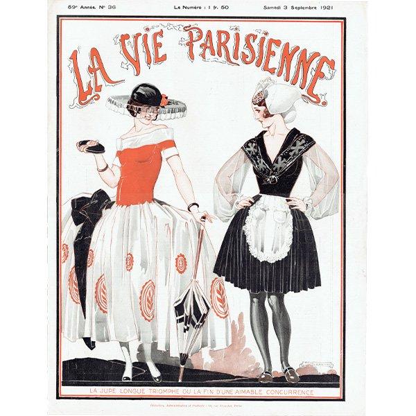 フランスの雑誌表紙 〜LA VIE PARISIENNE〜より(ルネ・ヴィンセント/René Vincent)0205<img class='new_mark_img2' src='https://img.shop-pro.jp/img/new/icons5.gif' style='border:none;display:inline;margin:0px;padding:0px;width:auto;' />