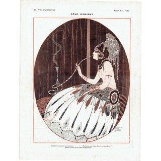 フランスの雑誌挿絵 〜LA VIE PARISIENNE〜より(Armand Vallée)0208