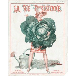 フランスの雑誌表紙 〜LA VIE PARISIENNE〜より(シェリ・エルアール/Chéri Hérouard)0214<img class='new_mark_img2' src='https://img.shop-pro.jp/img/new/icons5.gif' style='border:none;display:inline;margin:0px;padding:0px;width:auto;' />