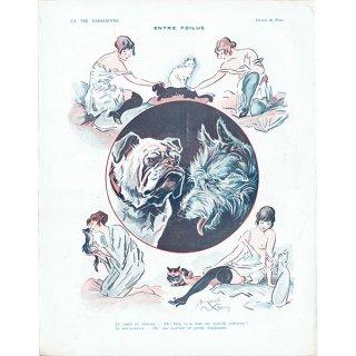 フランスの雑誌挿絵 〜LA VIE PARISIENNE〜より(Jacques Lehmann Nam)0222