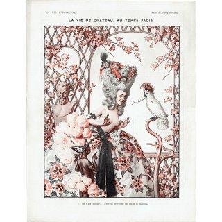 フランスの雑誌挿絵 〜LA VIE PARISIENNE〜よりアンリ・ジェルボー(Henry Gerbault)0221