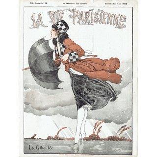 フランスの雑誌表紙 〜LA VIE PARISIENNE〜より(ルネ・ヴィンセント/René Vincent)0215