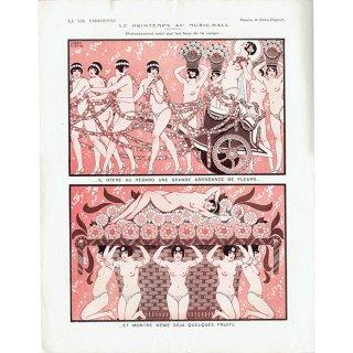 フランスの雑誌挿絵 〜LA VIE PARISIENNE〜より(Joseph Kuhn-Régnier)0233