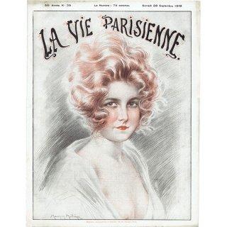 フランスの雑誌表紙 〜LA VIE PARISIENNE〜より(モーリス・ミリエール/Maurice Milliere)0227
