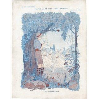 フランスの雑誌挿絵 〜LA VIE PARISIENNE〜より(Armand Vallée)0224